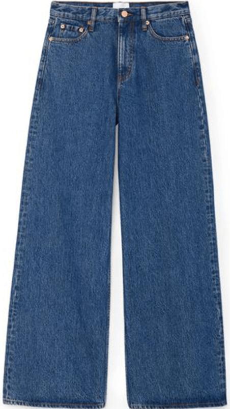 G. Label شلوار جین پهن گایگر