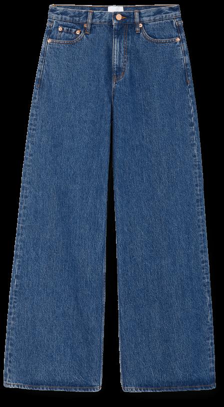 G, Label Geiger Wide-Leg Jeans goop, $295