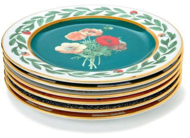 La DoubleJ Dessert Plates, Set of 6, goop, $350
