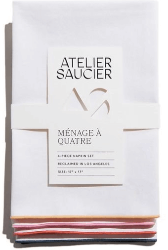 Atelier Saucier Napkins, set of 4