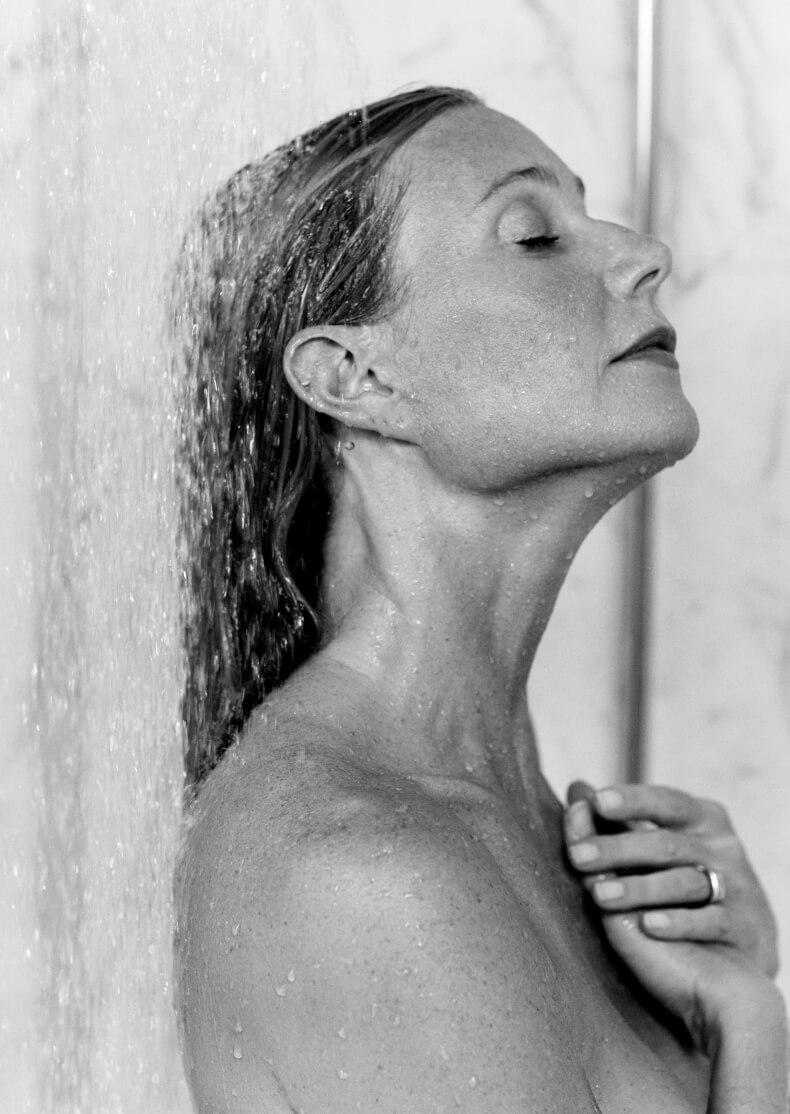 GP washing her hair