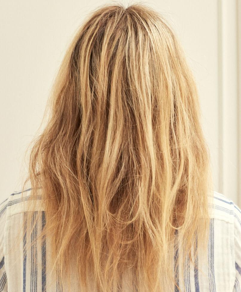 GP before hair serum