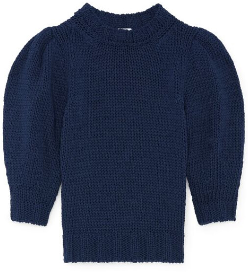 G. Label AmyLee chunky puff-sleeve sweater