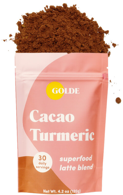 Cacao Turmeric Latte Blend goop, $29