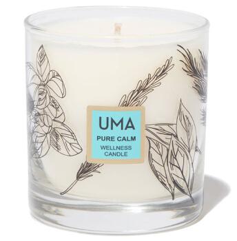 UMA pure calm wellness candle goop, $68