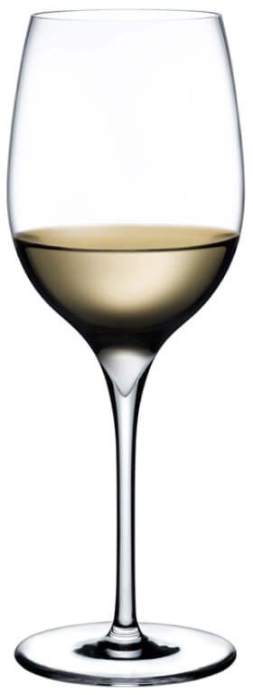 Nude Glass Dimple Aromatic White Wine Glass, Set of 2, goop, $70
