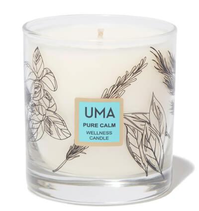 شمع سلامتی UMA Pure Calm، goop، 68 دلار