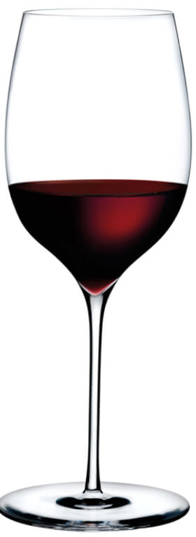 Nude Glass Dimple Powerful Red Wine Glass, Set of 2, goop, $74