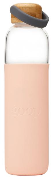 SOMA goop Glass Water Bottle, 25oz goop, $40