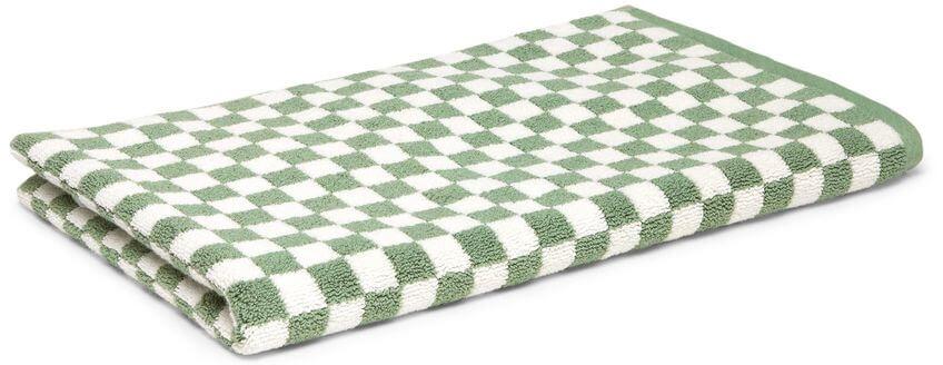 Baina Clovelly Organic Cotton Hand Towel, goop, $45
