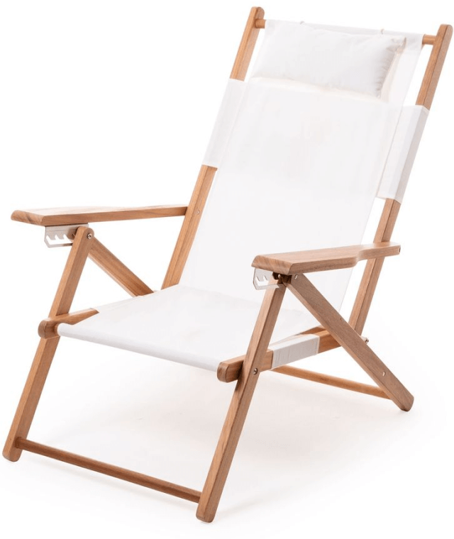 Business & Pleasure Co. The Tommy Chair successful  Antique White, goop, $249