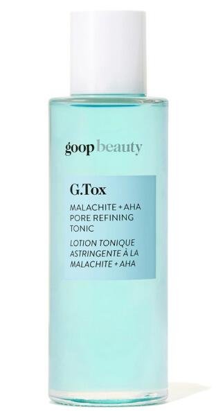 goop Beauty G.Tox Malachite + AHA Pore Refining Tonic ، 75 دلار/68 دلار با اشتراک