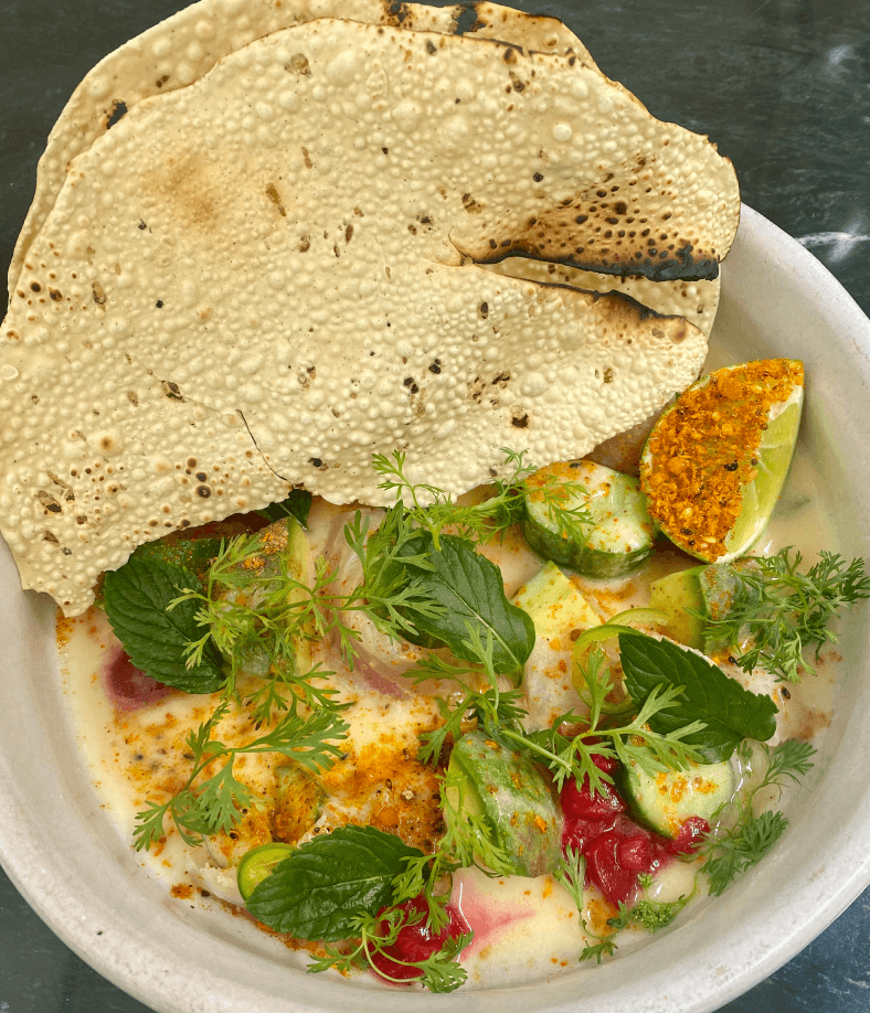 Masala y Maiz food