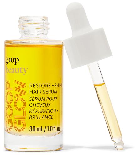 goop Beauty, GOOPGLOW Restore + Shine Hair Serum, goop, $48/$44 with subscription