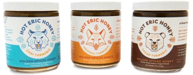 Hot Eric honey trio