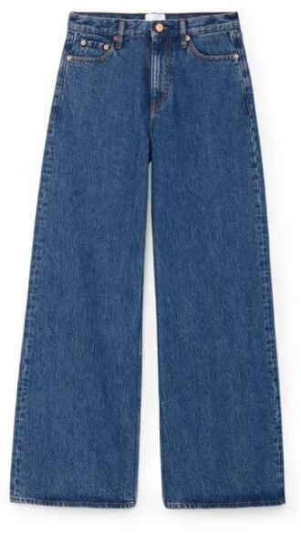 G. Label Geiger Wide-Leg Jeans goop ، 295 دلار
