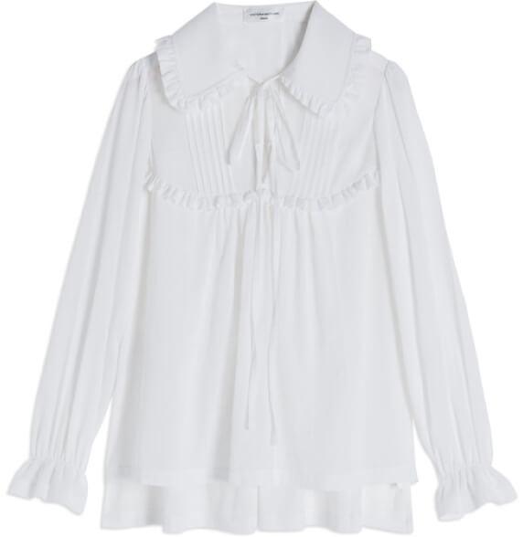Victoria Beckham blouse goop, $590
