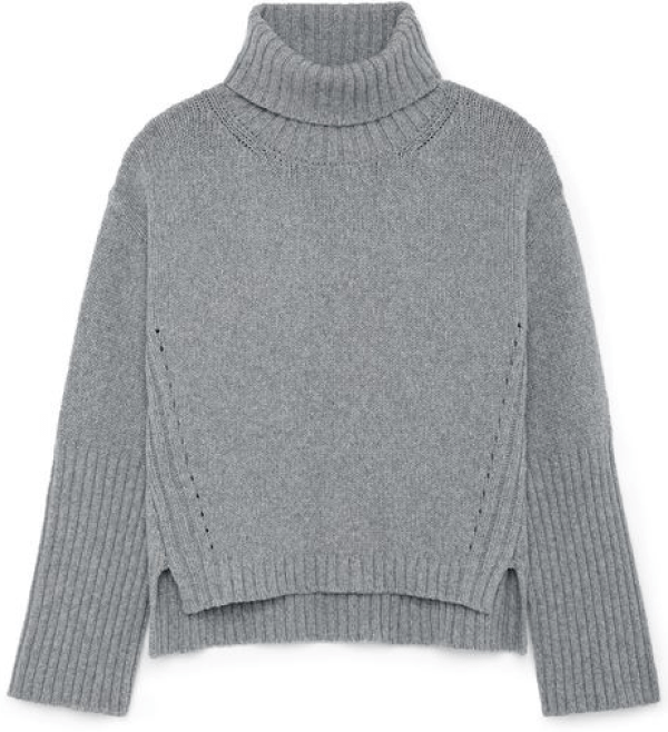 G. Label Yang High-Cuff Turtleneck Sweater goop, $595
