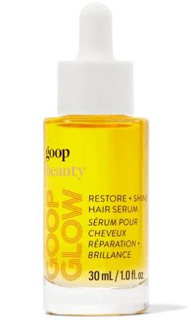 goop quality   GOOPGLOW Restore + Shine Hair Serum goop, $48