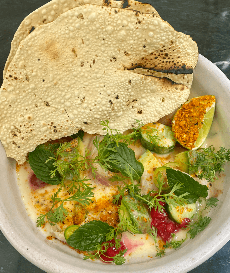 food at Masala y Maiz