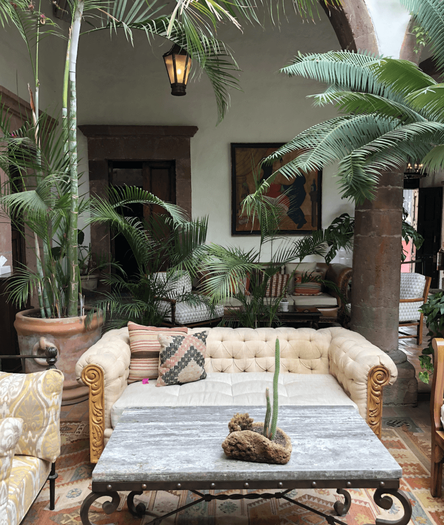 Casa de Sierra Nevada terrace