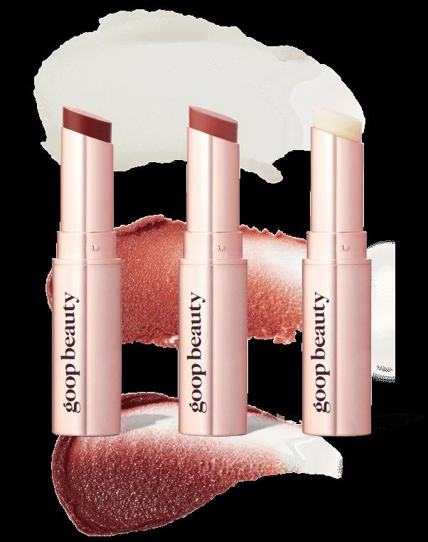 goop Beauty GOOPGENES Clean Nourishing Lip Balm Trio