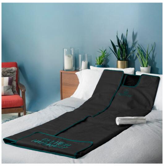 HigherDOSE Infrared Sauna Blanket V3, goop, $500