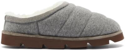 Brunello Cucinelli Slippers Matches Fashion, $1,295
