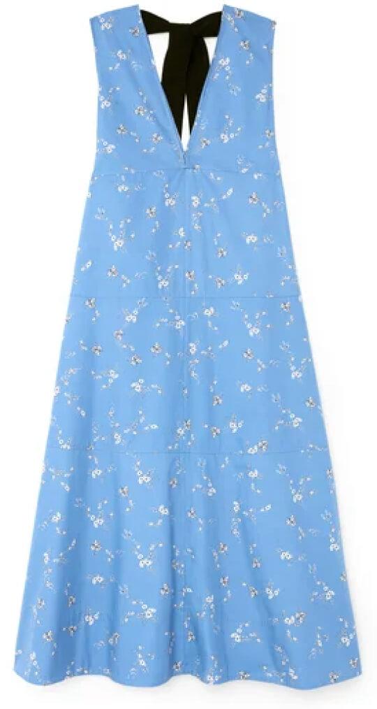 G. Label Margot Midlength A-Line Dress goop, $595