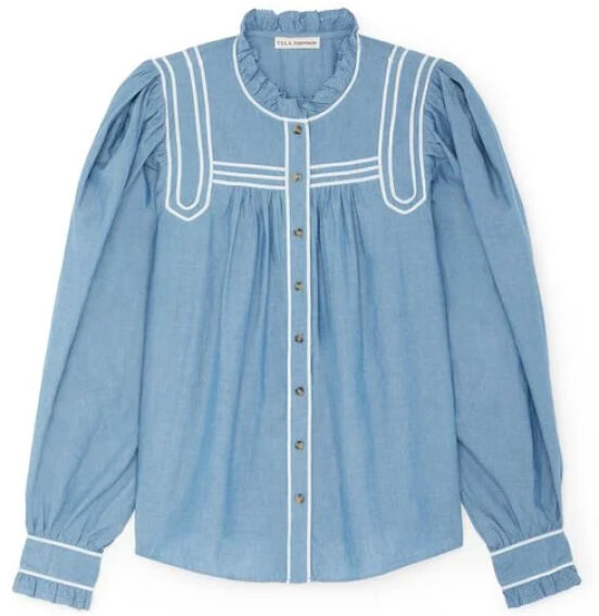 Ulla Johnson blouse goop, $375